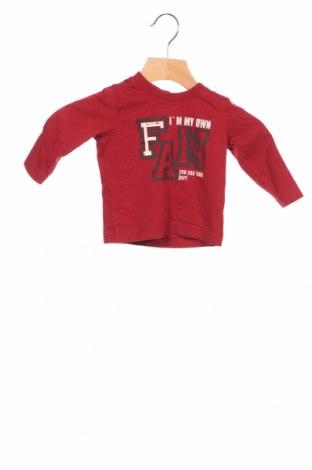 Детска блуза Tom Tailor, Размер 3-6m/ 62-68 см, Цвят Червен, Памук, Цена 18,15лв.