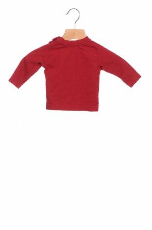 Детска блуза Tom Tailor, Размер 2-3m/ 56-62 см, Цвят Червен, Памук, Цена 15,84лв.