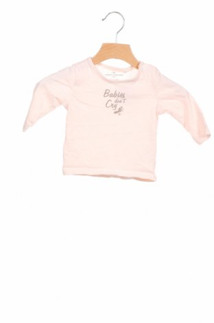 Детска блуза Tom Tailor, Размер 2-3m/ 56-62 см, Цвят Розов, Памук, Цена 17,49лв.