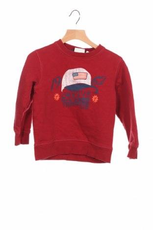 Детска блуза Tom Tailor, Размер 3-4y/ 104-110 см, Цвят Червен, Памук, Цена 24,75лв.