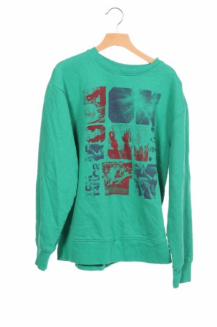 Детска блуза Tom Tailor, Размер 15-18y/ 170-176 см, Цвят Зелен, Памук, Цена 17,49лв.