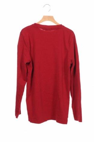 Детска блуза Tom Tailor, Размер 15-18y/ 170-176 см, Цвят Червен, Памук, Цена 24,75лв.