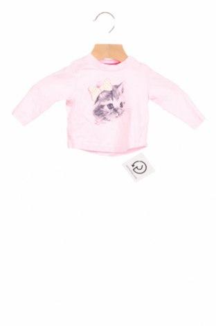 Детска блуза Tom Tailor, Размер 2-3m/ 56-62 см, Цвят Розов, Памук, Цена 9,24лв.