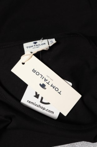 Детска блуза Tom Tailor, Размер 15-18y/ 170-176 см, Цвят Черен, Памук, Цена 19,61лв.