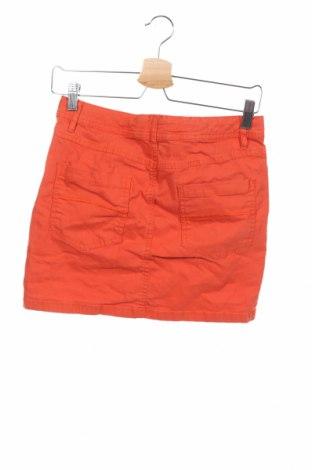 Детска пола Tom Tailor, Размер 15-18y/ 170-176 см, Цвят Оранжев, 98% памук, 2% еластан, Цена 18,06лв.