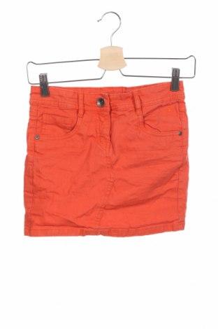 Детска пола Tom Tailor, Размер 10-11y/ 146-152 см, Цвят Оранжев, 98% памук, 2% еластан, Цена 23,10лв.