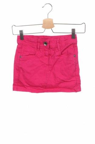 Детска пола Tom Tailor, Размер 7-8y/ 128-134 см, Цвят Розов, 98% памук, 2% еластан, Цена 20,16лв.
