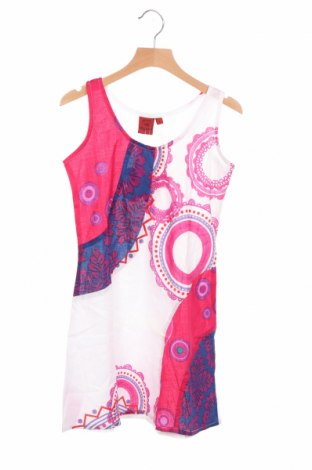 Детска рокля Aller Simplement, Размер 8-9y/ 134-140 см, Цвят Многоцветен, 100% памук, Цена 16,77лв.
