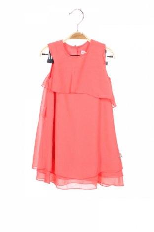 Детска рокля C&A, Размер 18-24m/ 86-98 см, Цвят Розов, 100% полиестер, Цена 25,50лв.
