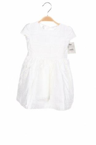 Детска рокля Carter, Размер 12-18m/ 80-86 см, Цвят Бял, Памук, Цена 31,20лв.