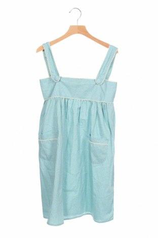 Детска рокля Deux ans de Vacances, Размер 9-10y/ 140-146 см, Цвят Зелен, 100% памук, Цена 28,50лв.