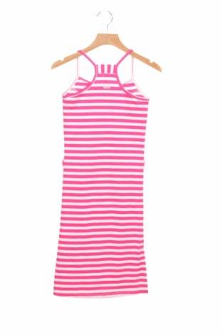 Детска рокля Kidz Art, Размер 4-5y/ 110-116 см, Цвят Розов, 65% памук, 30% полиестер, 5% еластан, Цена 22,04лв.