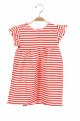 Детска рокля Lefties, Размер 18-24m/ 86-98 см, Цвят Червен, 88% полиестер, 12% еластан, Цена 12,00лв.