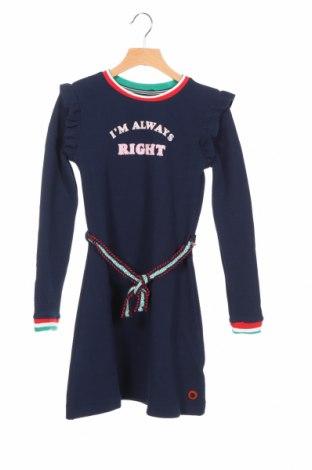 Детска рокля Quapi, Размер 2-3y/ 98-104 см, Цвят Син, 96% полиестер, 4% еластан, Цена 31,05лв.