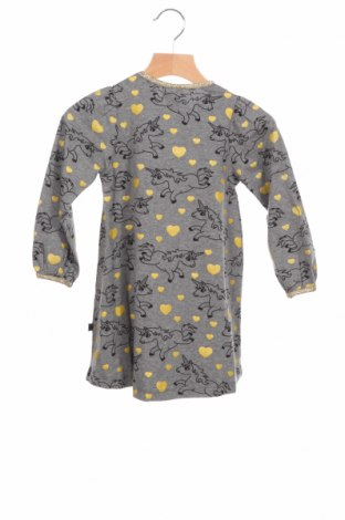 Детска рокля Smafolk, Размер 18-24m/ 86-98 см, Цвят Сив, 95% памук, 5% еластан, Цена 28,80лв.