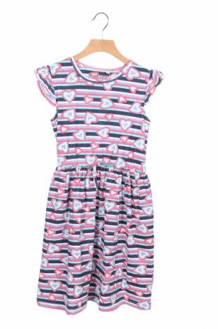 Детска рокля TPN, Размер 7-8y/ 128-134 см, Цвят Многоцветен, 95% памук, 5% еластан, Цена 34,50лв.