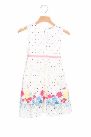 Детска рокля Topo, Размер 4-5y/ 110-116 см, Цвят Бял, Памук, Цена 25,44лв.