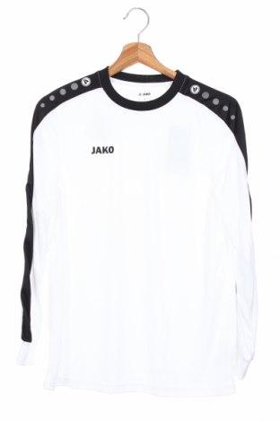 Детска спортна блуза Jako, Размер 13-14y/ 164-168 см, Цвят Бял, Полиестер, Цена 19,80лв.