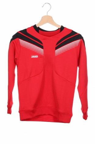Детска спортна блуза Jako, Размер 9-10y/ 140-146 см, Цвят Червен, Полиестер, Цена 27,00лв.