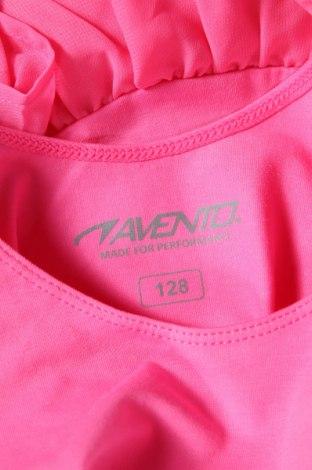 Детско боди Avento, Размер 7-8y/ 128-134 см, Цвят Розов, 91% памук, 9% еластан, Цена 18,00лв.