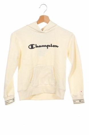 Детски суичър Champion, Размер 8-9y/ 134-140 см, Цвят Бежов, 60% памук, 40% полиестер, Цена 36,75лв.