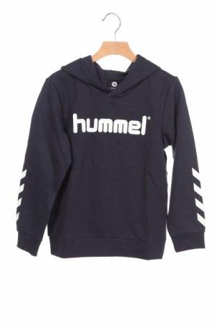 Детски суичър Hummel, Размер 7-8y/ 128-134 см, Цвят Син, 80% памук, 20% полиестер, Цена 36,75лв.