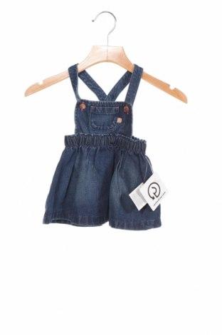 Детски сукман Inextenso, Размер 3-6m/ 62-68 см, Цвят Син, 100% памук, Цена 8,00лв.