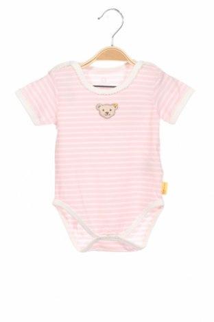 Детско боди Steiff, Размер 6-9m/ 68-74 см, Цвят Розов, 95% памук, 5% еластан, Цена 14,40лв.