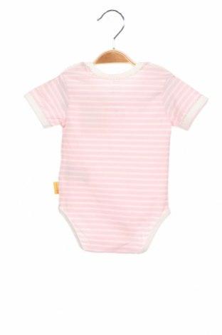 Детско боди Steiff, Размер 3-6m/ 62-68 см, Цвят Розов, 95% памук, 5% еластан, Цена 8,96лв.