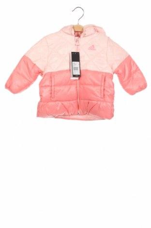 Детско яке Adidas, Размер 18-24m/ 86-98 см, Цвят Розов, Полиестер, Цена 78,32лв.