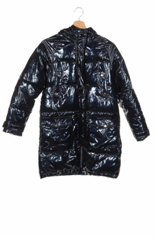 Детско яке Zara Kids, Размер 12-13y/ 158-164 см, Цвят Черен, Полиестер, Цена 43,22лв.