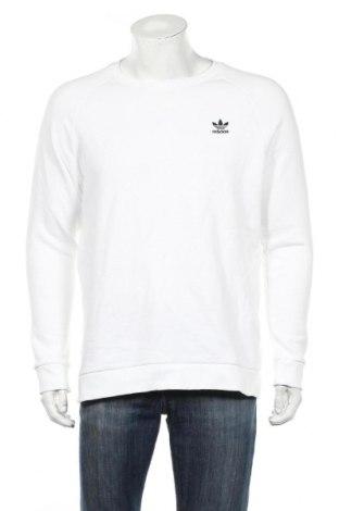 Męska bluzka Adidas Originals, Rozmiar L, Kolor Biały, 95% bawełna, 5% elastyna, Cena 166,88zł