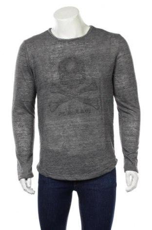 Ανδρική μπλούζα Poolman, Μέγεθος L, Χρώμα Γκρί, 80% βαμβάκι, 20% πολυεστέρας, Τιμή 12,34€