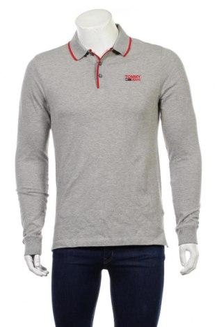Ανδρική μπλούζα Tommy Hilfiger, Μέγεθος M, Χρώμα Γκρί, 97% βαμβάκι, 3% ελαστάνη, Τιμή 34,41€
