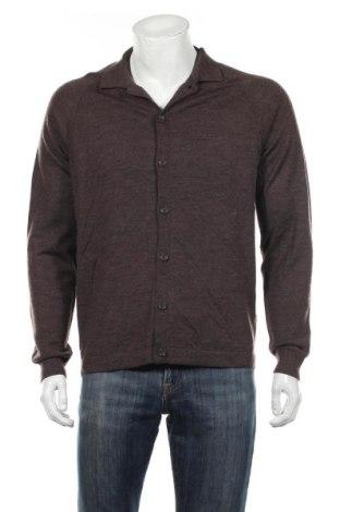 Мъжка жилетка Dressmann, Размер L, Цвят Кафяв, Вълна, Цена 35,70лв.