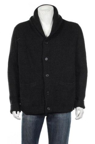 Мъжка жилетка H&M, Размер XL, Цвят Черен, 50% акрил, 30% вълна, 20% полиамид, Цена 33,60лв.