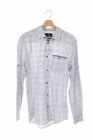 Ανδρικό πουκάμισο Canda, Μέγεθος S, Χρώμα Λευκό, Βαμβάκι, Τιμή 14,07€