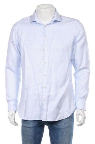 Ανδρικό πουκάμισο Jake*s, Μέγεθος L, Χρώμα Λευκό, 100% βαμβάκι, Τιμή 12,34€