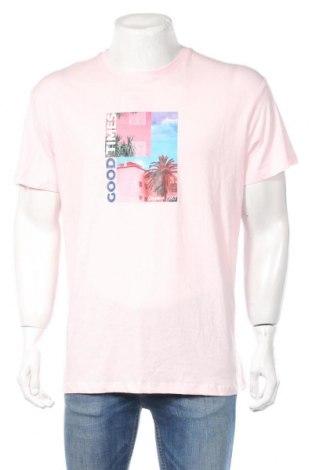 Ανδρικό t-shirt Clockhouse, Μέγεθος M, Χρώμα Ρόζ , Βαμβάκι, Τιμή 8,71€