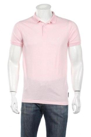 Męski T-shirt French Connection, Rozmiar M, Kolor Różowy, 80% poliester, 20% bawełna, Cena 106,20zł