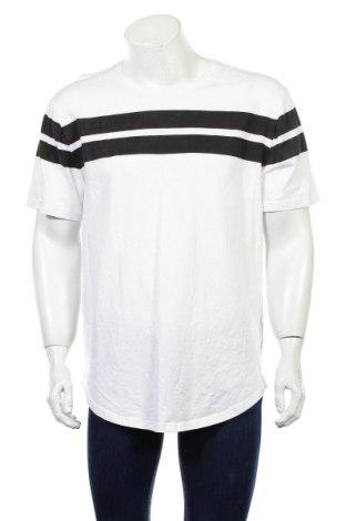 Męski T-shirt Only & Sons, Rozmiar XXL, Kolor Biały, Bawełna, Cena 45,50zł