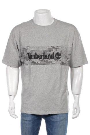 Męski T-shirt Timberland, Rozmiar M, Kolor Szary, Bawełna, Cena 160,20zł