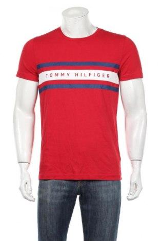 Ανδρικό t-shirt Tommy Hilfiger, Μέγεθος M, Χρώμα Κόκκινο, Βαμβάκι, Τιμή 33,03€