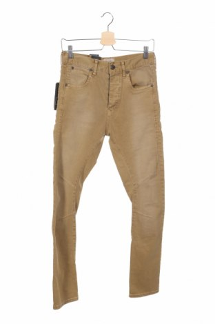 Мъжки дънки Jack & Jones, Размер S, Цвят Бежов, 98% памук, 2% еластан, Цена 44,20лв.