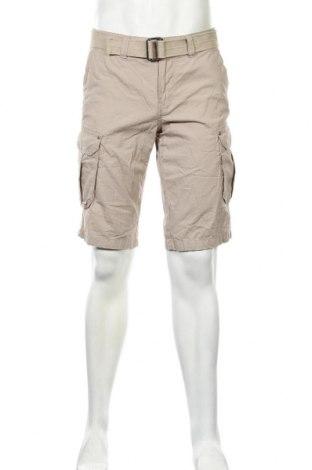 Ανδρικό κοντό παντελόνι Canda, Μέγεθος M, Χρώμα  Μπέζ, Βαμβάκι, Τιμή 7,01€