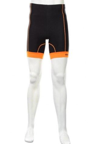 Męskie legginsy Gregster, Rozmiar S, Kolor Czarny, 82% poliamid, 18% elastyna, Cena 52,50zł