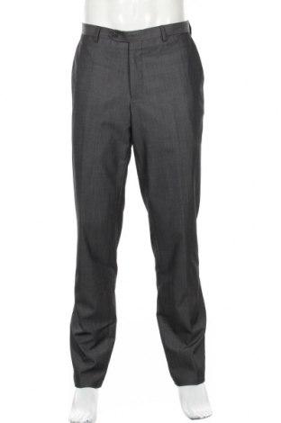 Мъжки панталон Peter Van Holland, Размер L, Цвят Сив, 50% вълна, 50% полиестер, Цена 7,61лв.
