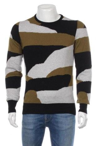 Męski sweter, Rozmiar M, Kolor Kolorowy, Cena 122,50zł