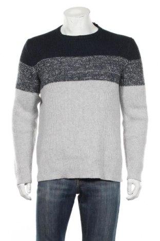 Męski sweter Esprit, Rozmiar L, Kolor Niebieski, 35%akryl, 35% poliamid, 30% wełna, Cena 84,00zł