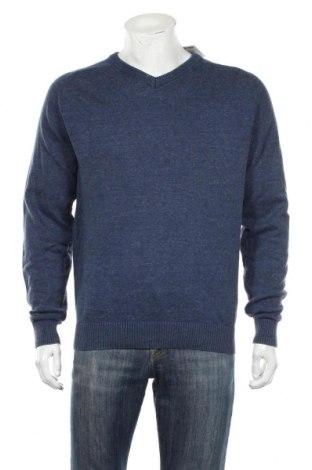 Męski sweter Human Nature, Rozmiar L, Kolor Niebieski, 100% bawełna, Cena 93,00zł